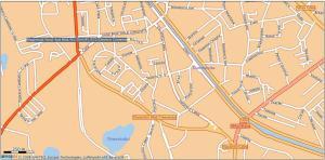 Cartierul Tineretului - Harta 6